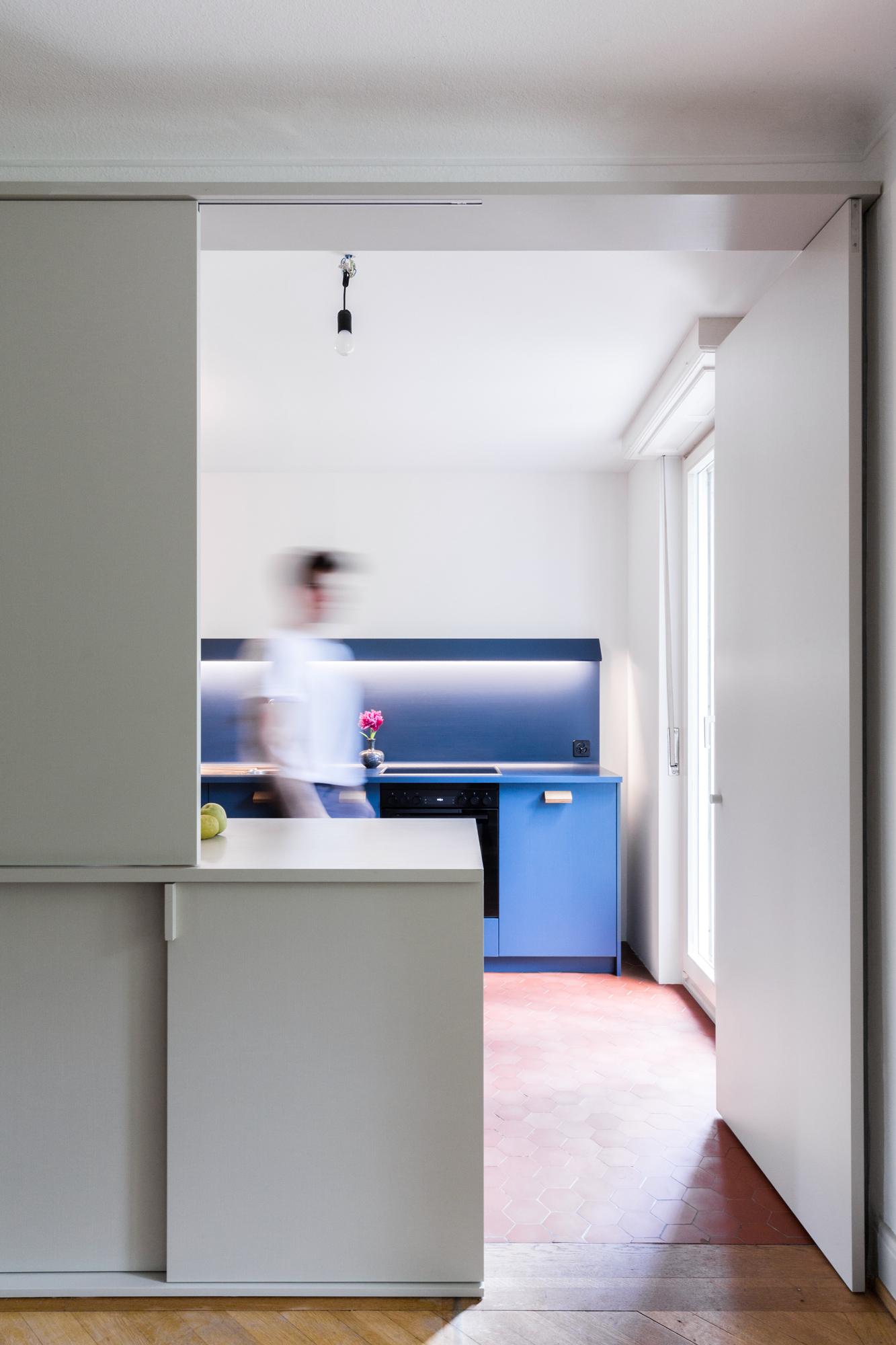 losgelöstes Küchenmöbel