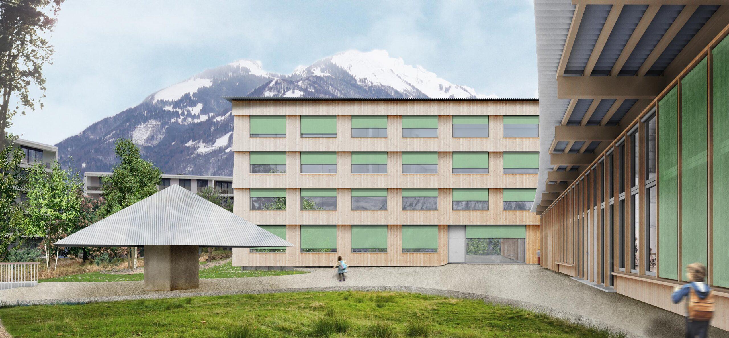 Schulhaus mit Tagesstruktur